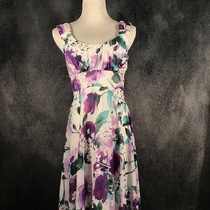 EUC Beautiful floral dress